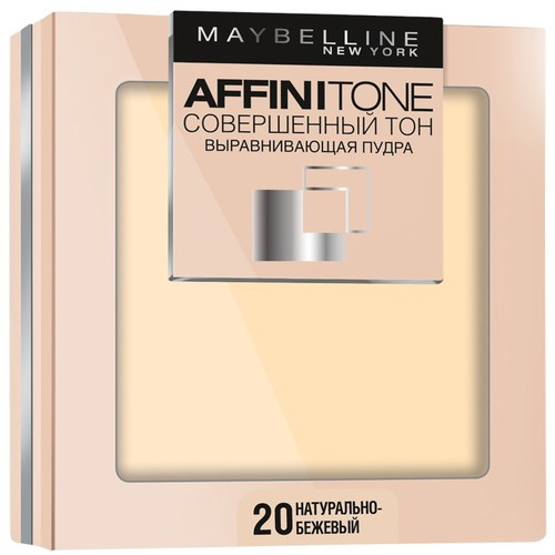 Пудра для лица Maybelline Affinitone Powder
